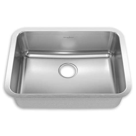 Standard Stainless Steel Sink Sizes American Standard Quot Prevoir Quot Undermount Stainless Steel
