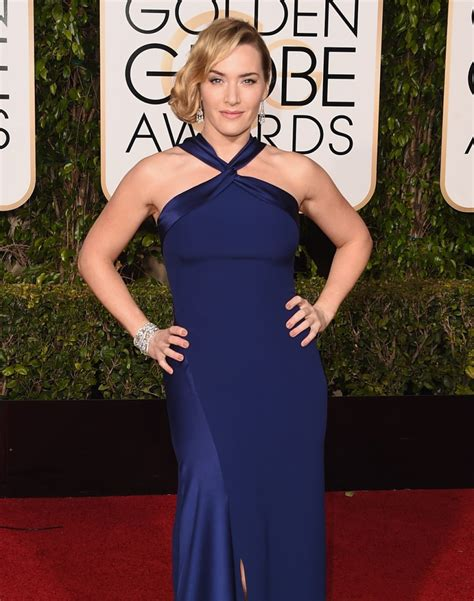 Kate Winslet At The Golden Globes by Kate Winslet In Ralph 2016 Golden Globe Awards