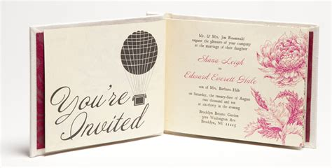 wedding invitations book shana edward s hardcover book wedding invitations