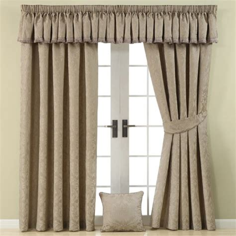 taupe curtains uk damask lined pencil pleat curtains taupe