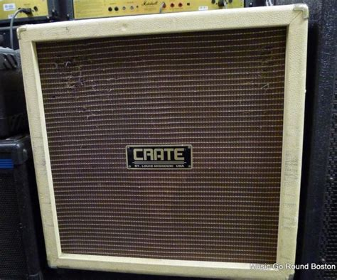 Crate 4x10 Guitar Cabinet by Crate Vintage Club Vc 410e 410 Guitar Cab Cabinet