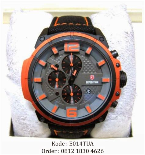 Harga Jam Orange 0812 1830 4626 jual jam tangan expedition 6622 orange
