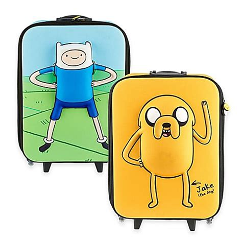 adventure time bathroom adventure time hardshell 3d roller luggage bed bath beyond