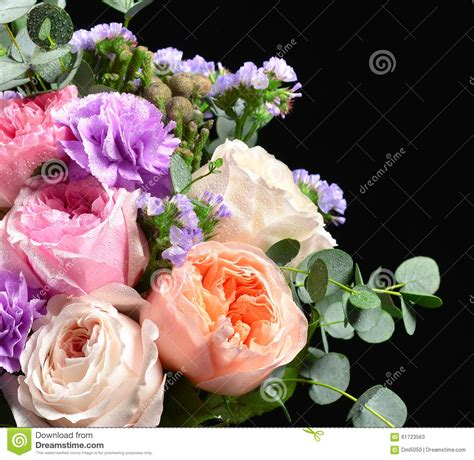 Black Blue Green Mixed Roses S M L Dress O1499 Import Beautiful Bouquet Of Bright White Pink Purple Roses