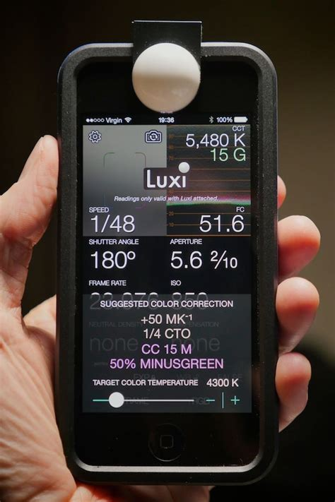 light spectrum meter app your iphone is now a professional light color meter