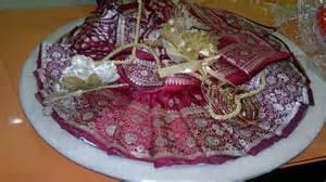 saree packing for wedding or bridal lehenga packing