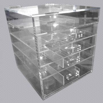 clear acrylicperspex cosmeticmakeup drawer organizer