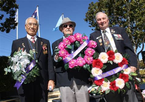 Mba Funeral Service by Korean War Commemorated At Greenbank Rsl Photos