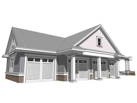 4 Car Garage Plans by Four Car Garage Plans Country Style 4 Car Garage Plan
