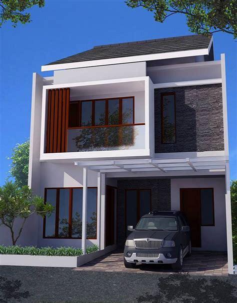 desain depan rumah 2 lantai 36 desain rumah minimalis 2 lantai sederhana 2018 dekor