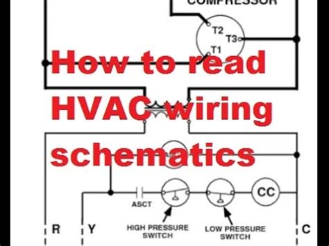 hvac reading air conditioner wiring schematics