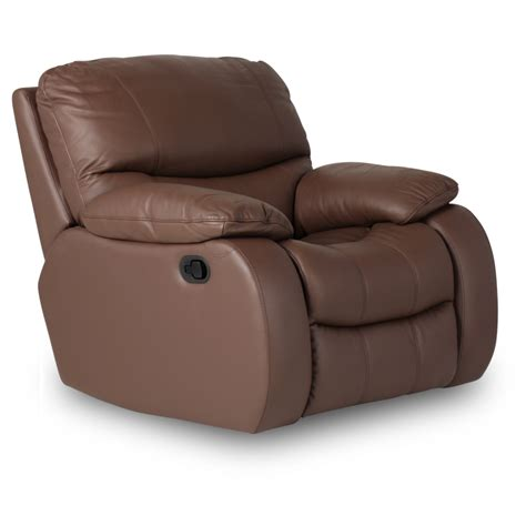 one seater recliner leather recliner sofa 1 seater louisa brown price 603