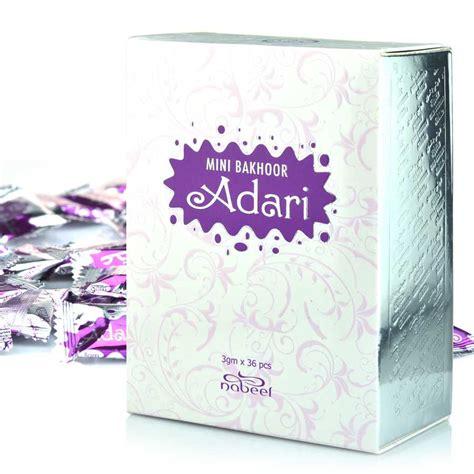 Bakhoor Mini mini bakhoor adaari incense by nabeel 108gm box of 36 x 3gm