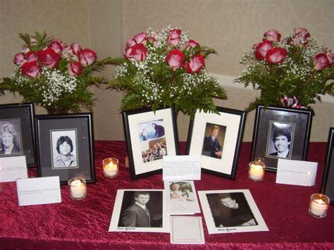 Five Class Reunion Memorial Ideas Class Reunion Decorating Ideas Class Reunion Memorial