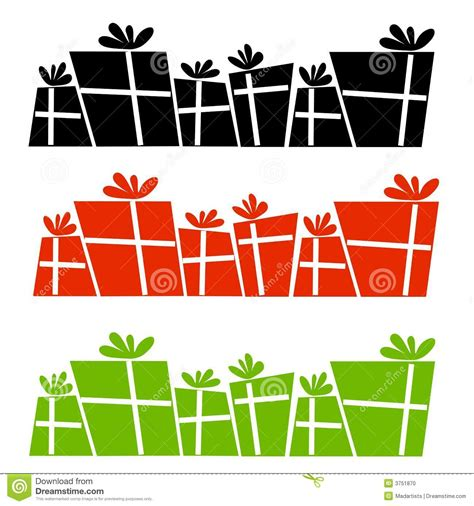 Clipart Border Of Gifts And by Present Border Clipart Clipart Panda Free