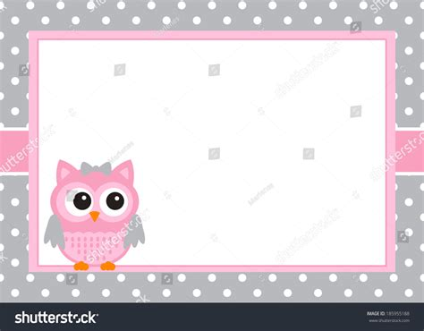 Baby Card Template by Baby Invitation Card Template Stock Vector