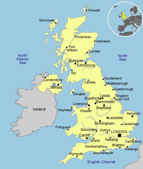 libro main cities of europe 97 simple map of england cities google search travel the world city maps england