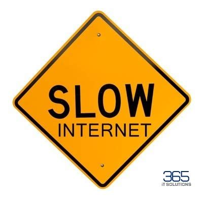 why is my business internet slow 365 it solutions