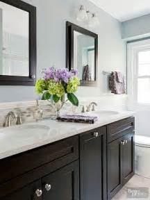 Gray And Blue Bathroom Ideas by 25 Best Ideas About Dark Cabinets Bathroom On Pinterest