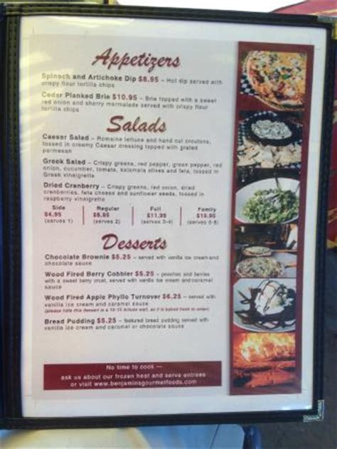 Pantry Cafe Menu by Pantry Cafe Menu Picture Of Benjamins Gourmet Foods Selkirk Tripadvisor