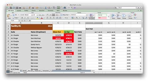 Rental Property Accounting Spreadsheet by Rental Property Accounting Spreadsheet Laobingkaisuo