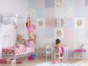 wallpaper for girls bedroom wallpaper girls room patchwork wallpaper for girls