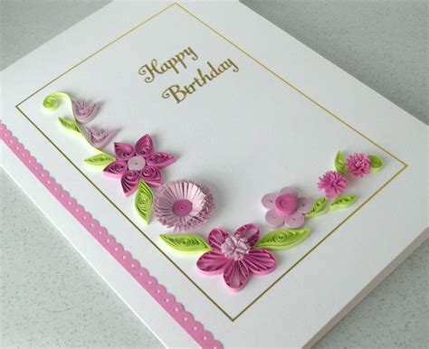 Greeting Card Designs Handmade Paper - the gallery for gt handmade paper quilling birthday cards