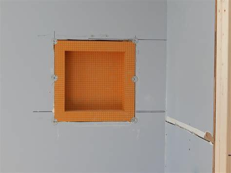 Kerdi Shower Niche by Tiled Corner Shower Creativetilingsolutions