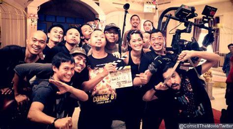 film layar lebar indonesia comic 8 kemal palevi cs todong senjata di poster comic 8 casino