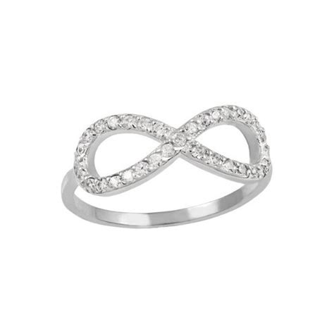 infinity ring swarovski infinity ring by mezi annielka