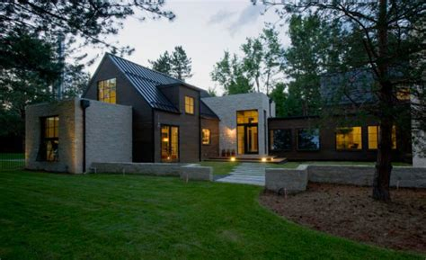 Remodel App a hybrid of modern and traditional architecture design milk