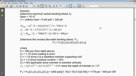 design for manufacturing questions ca pe exam prep structural exle problem timber
