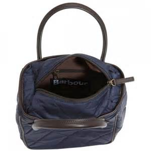 barbour quilted tote bag