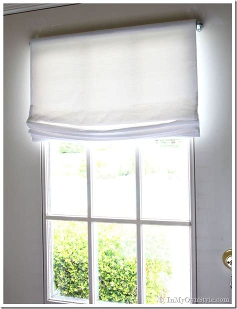 window treatments for front doors with glass easy no sew window treatments relaxed shade