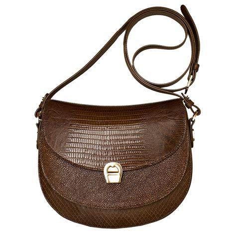 Aigner Shoulder Bag aigner small shoulder bag in brown buy aigner at