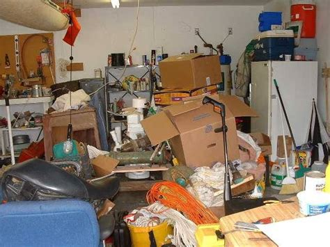 Garage Clean Out by Top 10 Reasons To Buy A Shed