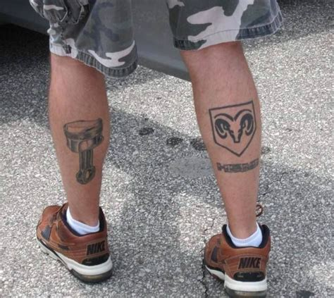 dodge tattoos 17 best images about mopar tattoos on cars
