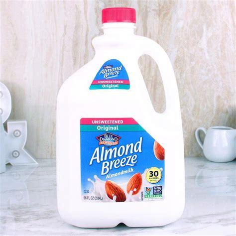 Almond Rawalmond Milk almond almond milk unsweetened original 96 oz milk and eggs