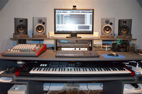 best desk for home studio 1000 images about recording studio desk on