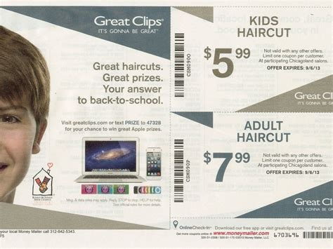 haircut coupons great clips 2016 great clips back to school coupon oak lawn il patch