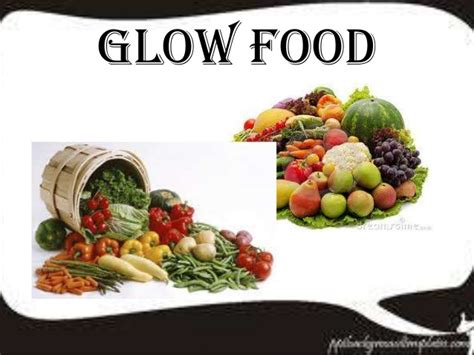 go food go glow and grow food