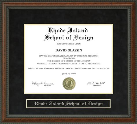 graphic design certificate rhode island rhode island school of design risd diploma frame wordyisms