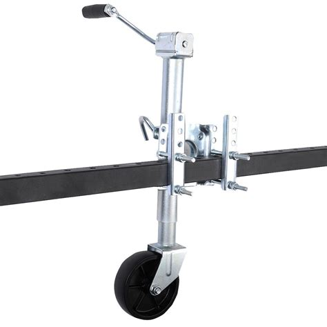 swing away trailer jack new 1000 lb boat rv swing away trailer jack swivel wheel