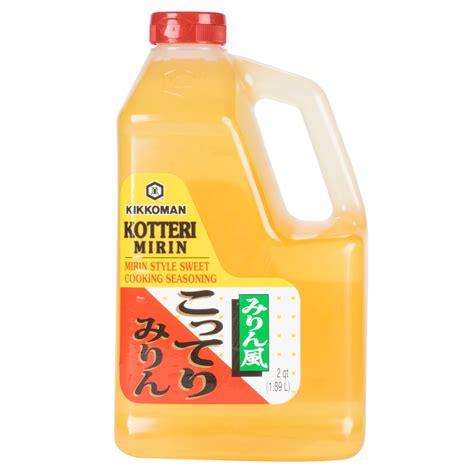kotteri mirin kikkoman kotteri mirin sweet seasoning 5 gallon container