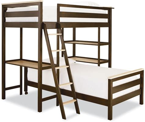 Grey Metal Bunk Beds with Myroom Parchment And Gray Metal Loft Bunk Bed From Smart Stuff 5321630 Coleman Furniture