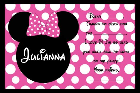 pageplus minimouse greeting card template minnie mouse birthday invitations ideas bagvania free