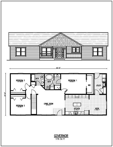 ranch home floor plan floor plans by shawam082498 on floor plans