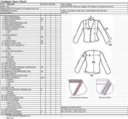 Garment Spec Sheet by Specsheet Laurenvaterlaus