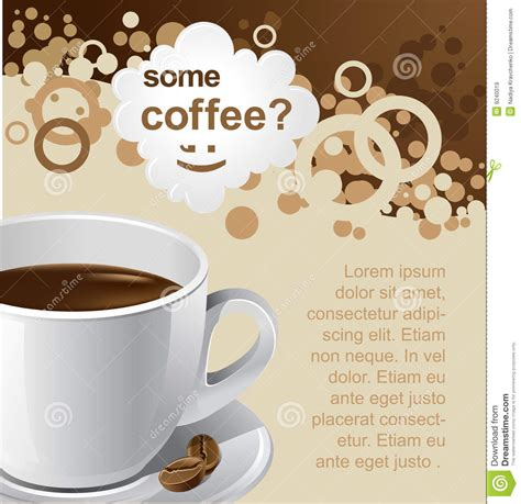 Coffee Promotion Royalty Free Stock Images   Image: 9240019
