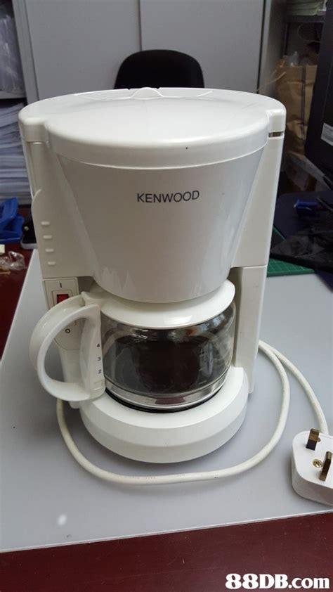 Coffee Maker Sharp 二手 philips 飛利浦 護眼枱燈 kenwood cm60 coffee maker 咖啡機